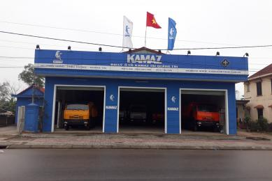 Khai trương đại lý ô tô KAMAZ tại Quảng Trị