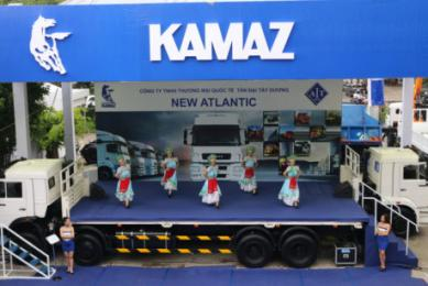 TP HCM: Xe tải KAMAZ quyết tâm lấy lại thị phần tại thị trường Việt Nam