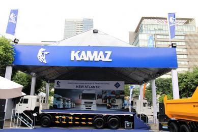 Triển Lãm Vietnam Motor Show 2017 của gian hàng KAMAZ