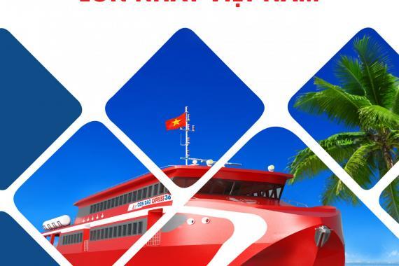 Lễ hạ thủy tàu cao tốc hai thân - Tàu Côn Đảo Express 36