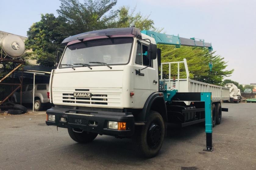 XE TẢI KAMAZ 53229 GẮN CẨU HKTC 5 TẤN