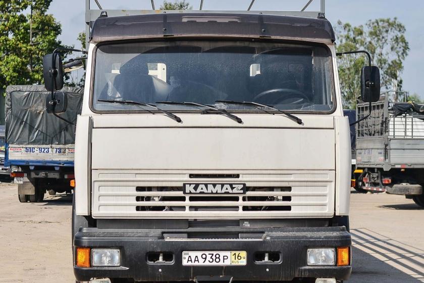 XE TẢI THÙNG KAMAZ 53229 (6x4) THÙNG NHẬP
