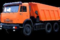 Xe ben KAMAZ 65115 (6x4) thùng vát