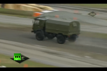 KAMAZ trucks on Russia Arms Expo 2015