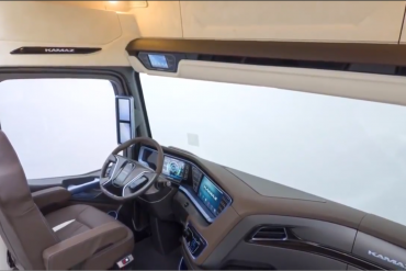New Cabin From Kamaz 2015 Full HD