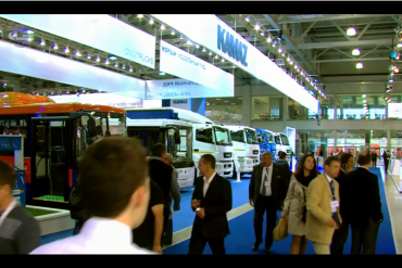 KAMAZ Exhibition 2015 in Russia