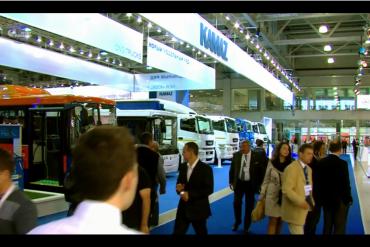 KAMAZ Exhibition 2015 in Russia