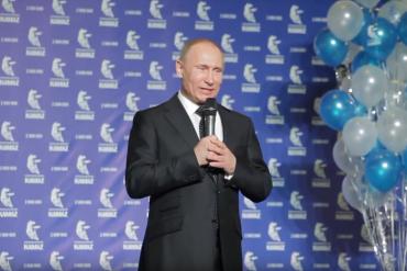 Vladimir Putin visit to KAMAZ